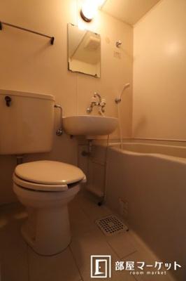 【浴室】レオパレス21岡崎公園第2