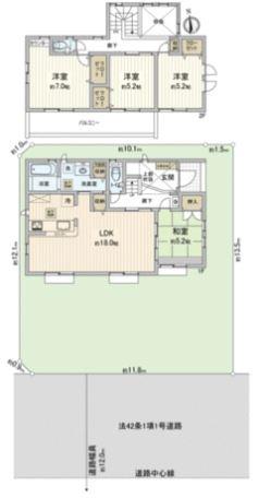 【新築】鶴ヶ島市脚折町4丁目新築分譲住宅