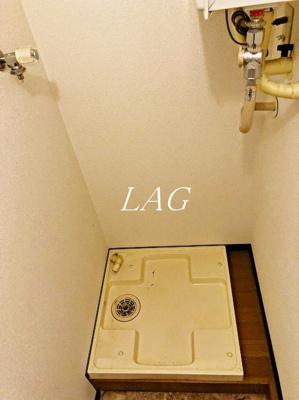室内洗濯機置き場(同仕様)です。