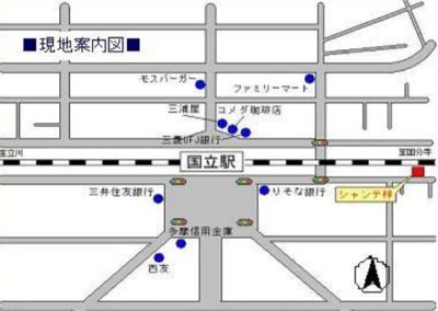 【地図】シャンテ梓