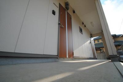 【玄関】クレフラスト試験場前駅南