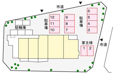 【区画図】ベラルデ
