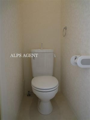 お掃除しやすいシンプルなトイレ(同一仕様)