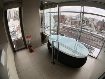 【浴室】FLEG恵比寿W(フレッグ恵比寿W)