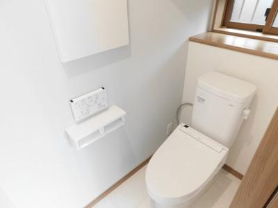 【トイレ】入間市上藤沢・全1棟 新築一戸建 ~駐車2台可~