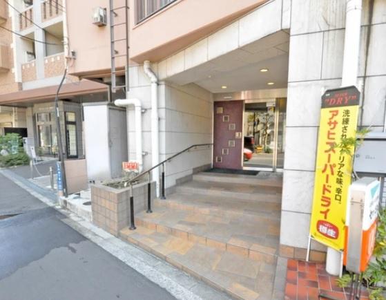 【エントランス】西日暮里サマリヤマンション