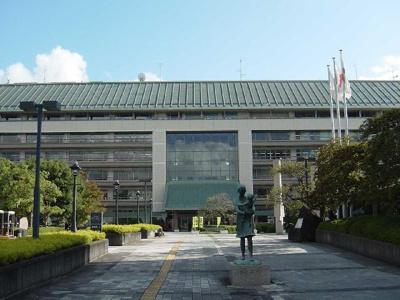 成田市役所まで400m