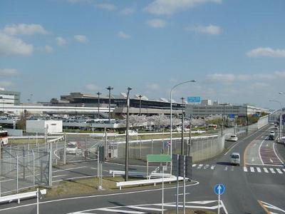 成田国際空港まで8,607m