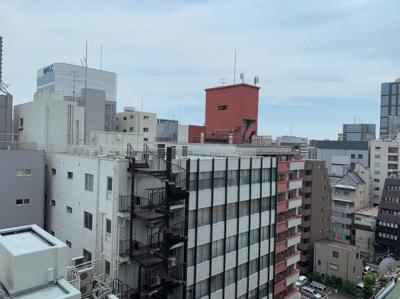 12階部分からの眺望です。