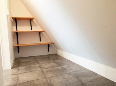 キッチン横の収納スペースです。パントリースペースとしてお使い頂けます。