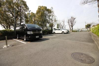【駐車場】ユニ宇治川マンション5号館