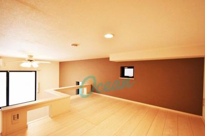 ロフトは最大高さ120cm♪寝室として使えます!※同一仕様写真