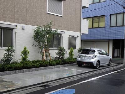 【駐車場】新築 シャルムスリジエ