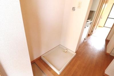 B102 玄関周り:室内洗濯機置き場