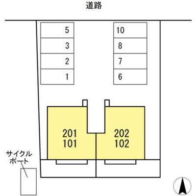 【外観】ボヌール羽屋F