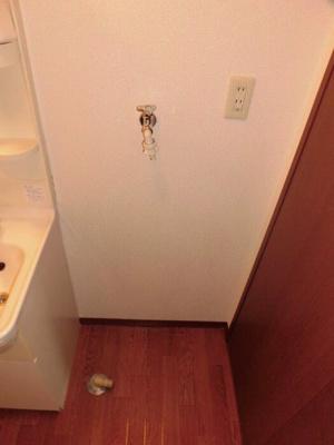 101 洗濯機置き場