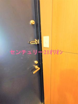 安心のダブルロックドア