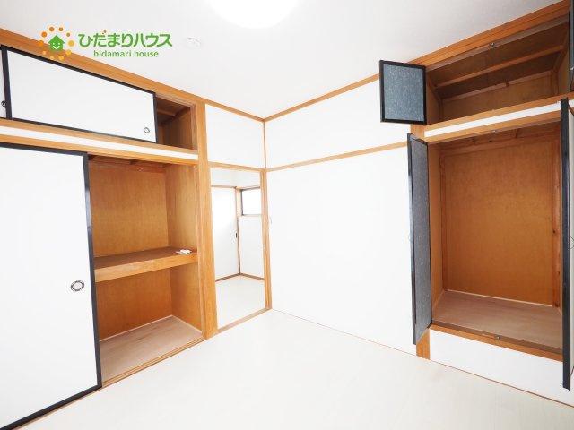大容量の収納で居室の住空間もスッキリ広々使えます☆彡
