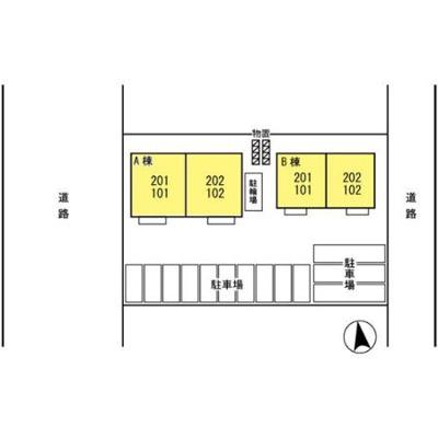【区画図】Fill House B