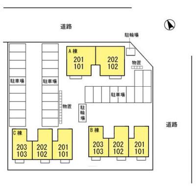 【区画図】サニープレイス-i C