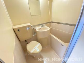お風呂・洗面・トイレが一体型になっております♪お掃除も楽ですね(^^)