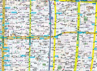 【地図】レジディア谷町