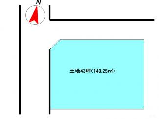 【土地図】沼津市松沢町 住宅用地