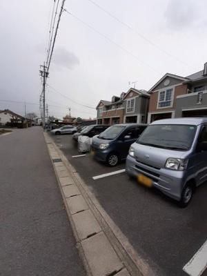 【駐車場】アビタシオン渡B