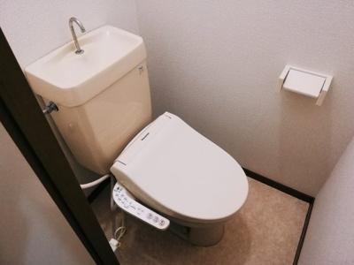 【トイレ】コーポアプリコット