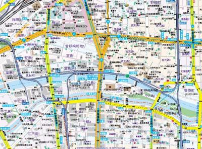 【地図】HF中之島レジデンス