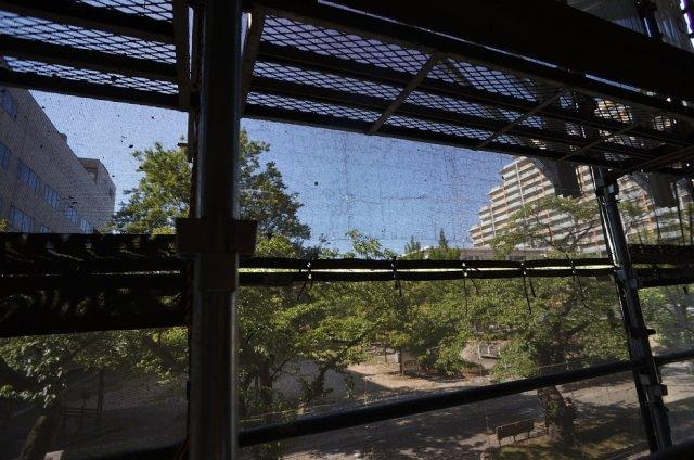 建築中からの眺望