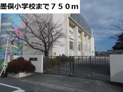 墨俣小学校まで750m