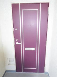 玄関ドア 管理組合修繕にてドア交換(時期不明)