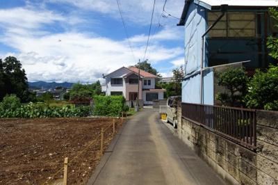 【前面道路含む現地写真】小比企町