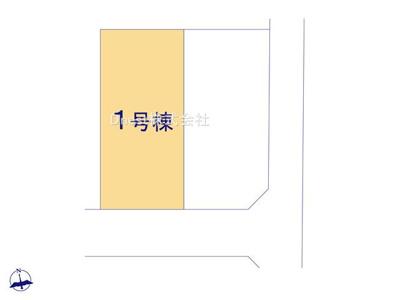 【区画図】野田市七光台1期 新築戸建