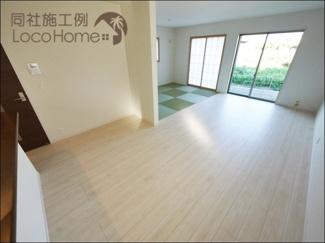 【居間・リビング】加古川市西神吉町岸3期 新築戸建