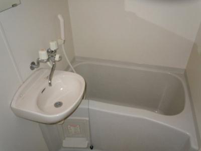 【浴室】レオパレス向B