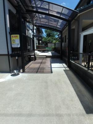 【駐車場】坂戸市清水町中古戸建・二世帯住宅