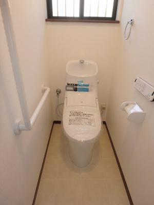 【トイレ】坂戸市清水町中古戸建・二世帯住宅