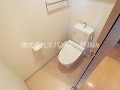 【トイレ】ロイヤルシティー大森