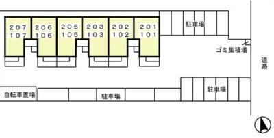【区画図】エムロードⅠ
