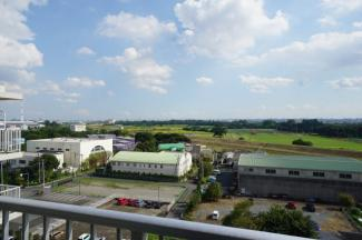 10階部分の眺望は高い建物がなく眺開放感があります