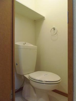 【トイレ】レオパレスルレーブ上面