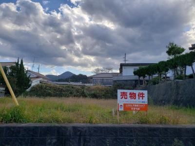 【前面道路含む現地写真】鳥取市鹿野町今市土地