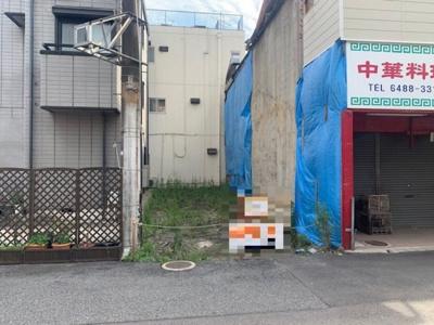 【前面道路含む現地写真】杭瀬本町1丁目 売り土地