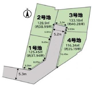 【土地図】大津市錦織1丁目6 売土地