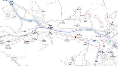 【地図】南方3丁目 売地