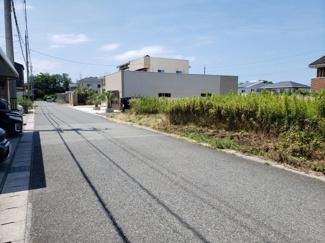【前面道路含む現地写真】鳥取市賀露町西3丁目 土地
