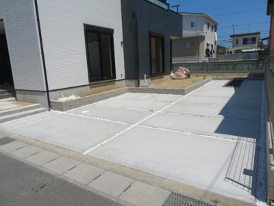 【駐車場】鈴鹿市東磯山4丁目 新築分譲住宅1号棟