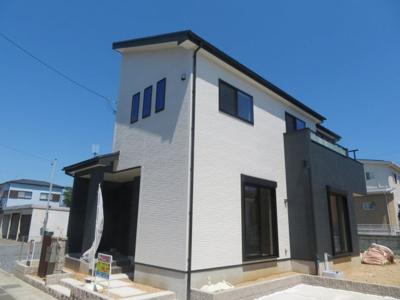 【外観】鈴鹿市東磯山4丁目 新築分譲住宅1号棟